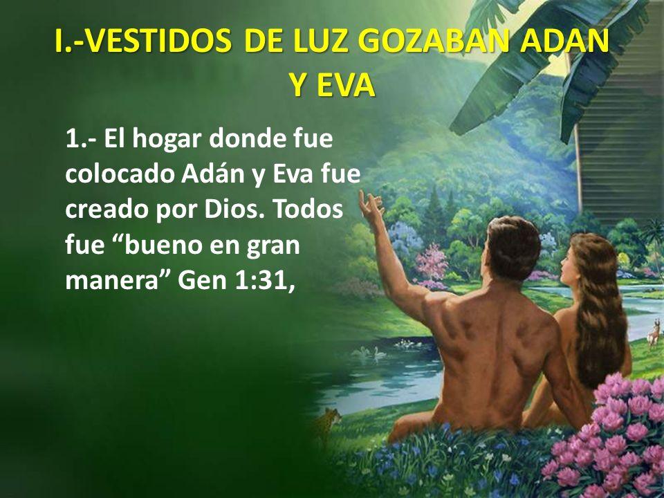 I.-VESTIDOS DE LUZ GOZABAN ADAN Y EVA