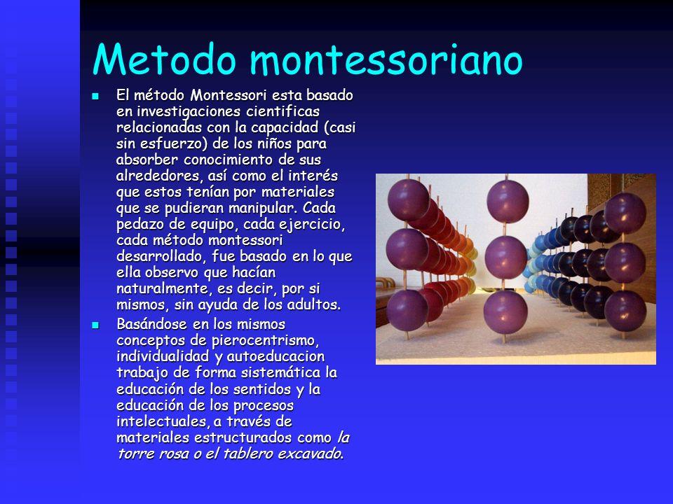 Metodo montessoriano