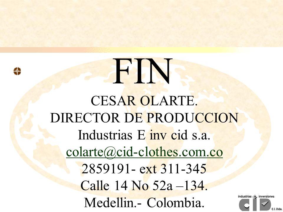 DIRECTOR DE PRODUCCION