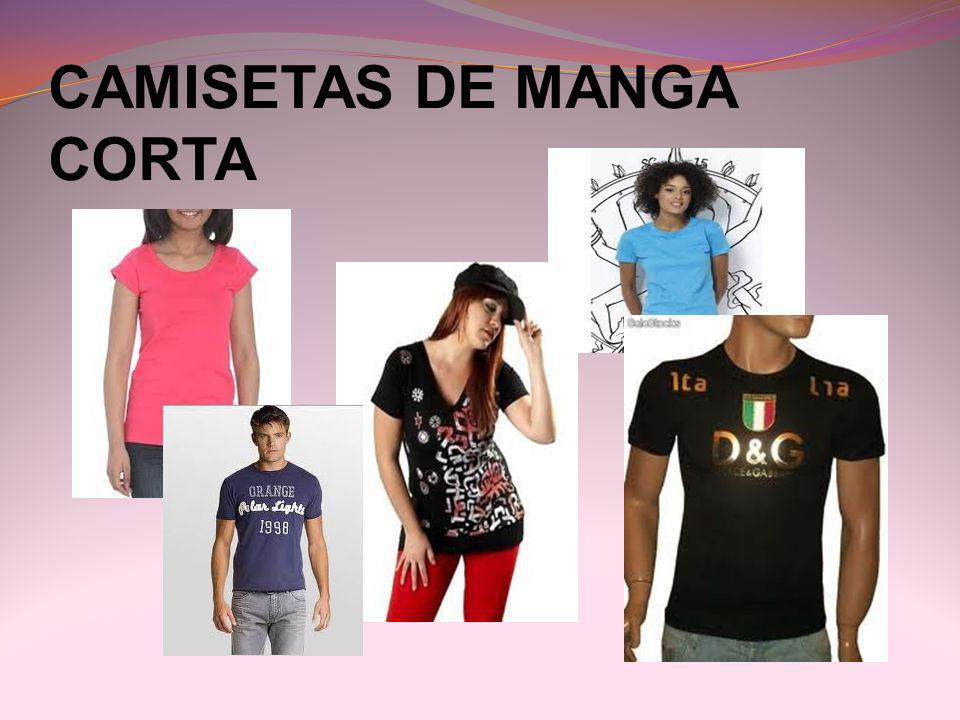 CAMISETAS DE MANGA CORTA