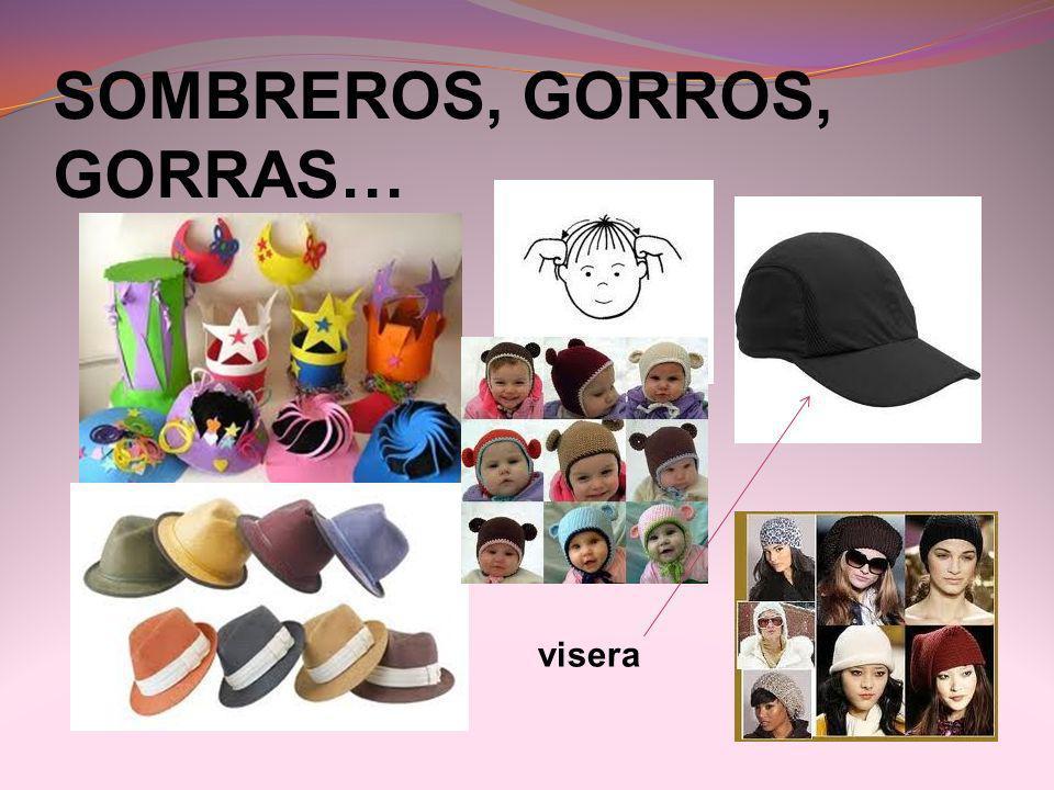 SOMBREROS, GORROS, GORRAS…