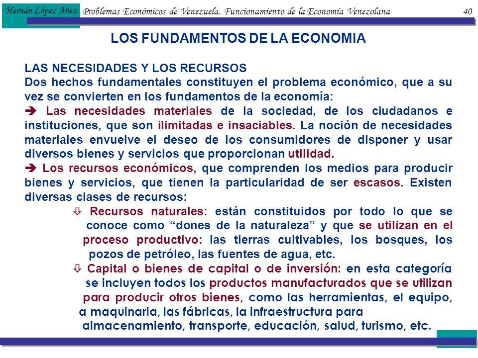LOS FUNDAMENTOS DE LA ECONOMIA