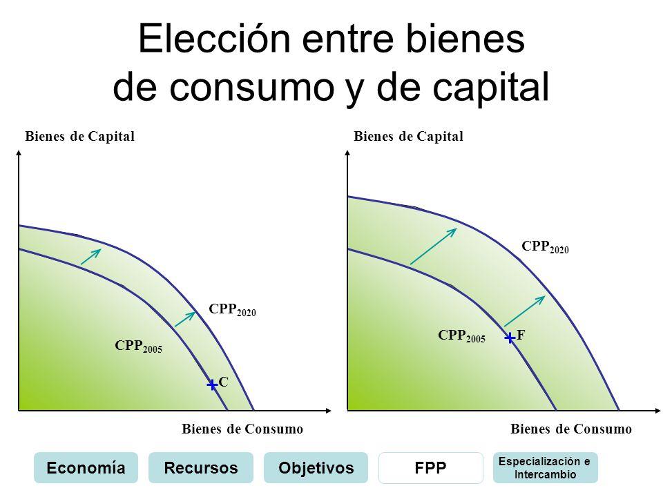 Elección entre bienes de consumo y de capital
