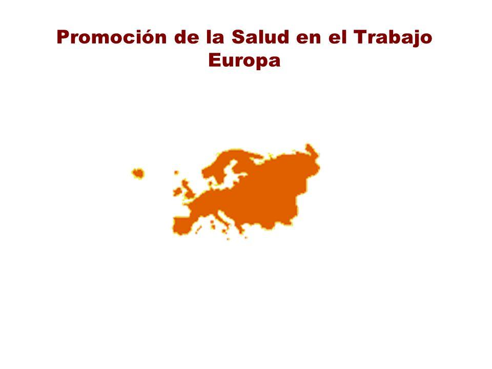 Promoción de la Salud en el Trabajo Europa