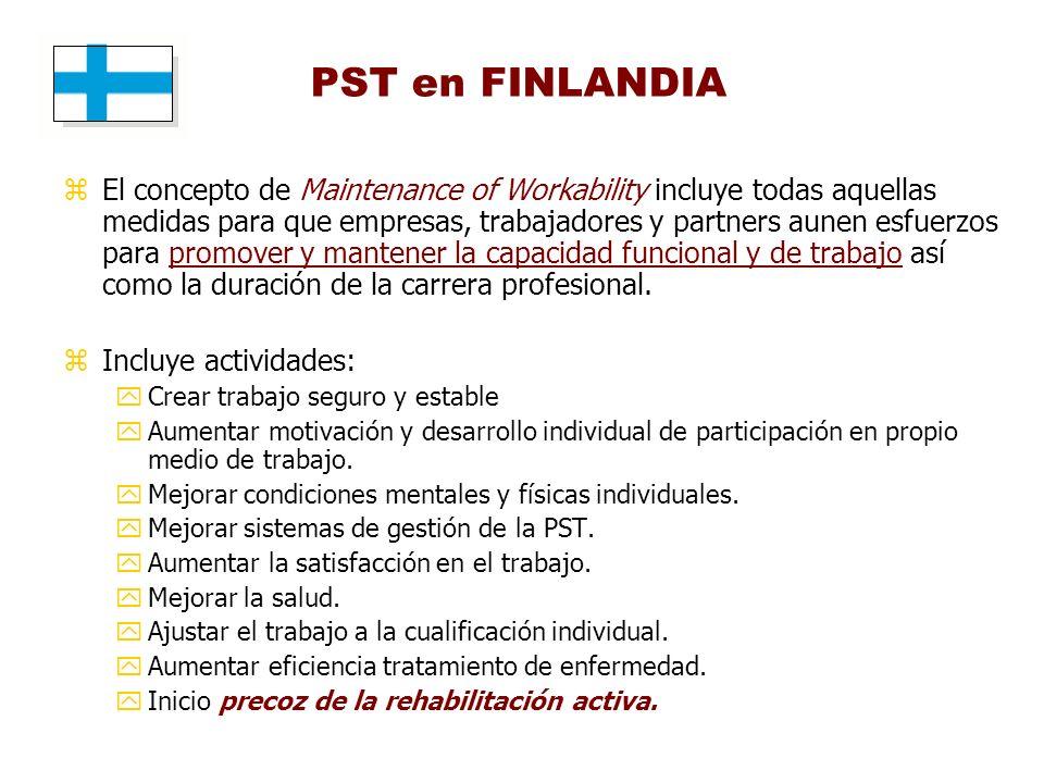PST en FINLANDIA