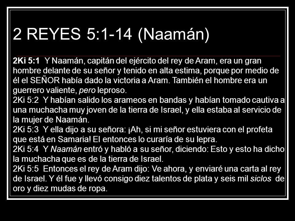 2 REYES 5:1-14 (Naamán)