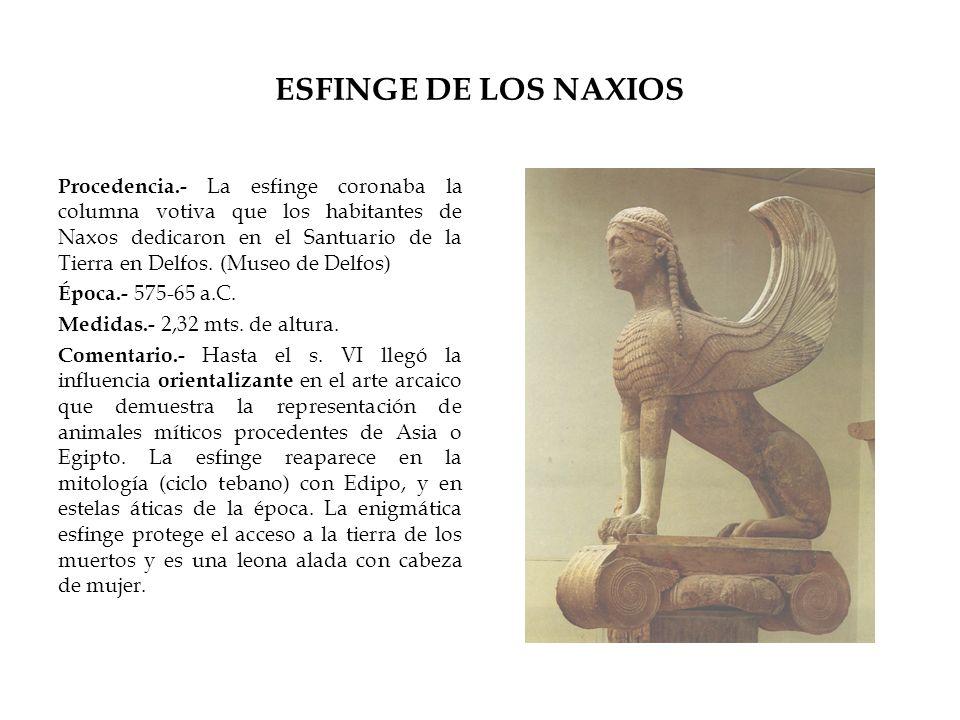 ESFINGE DE LOS NAXIOS