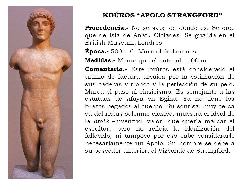 KOÚROS APOLO STRANGFORD