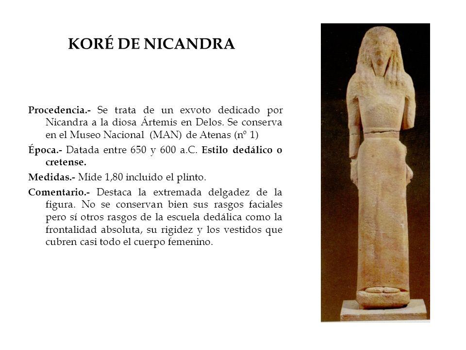 KORÉ DE NICANDRA