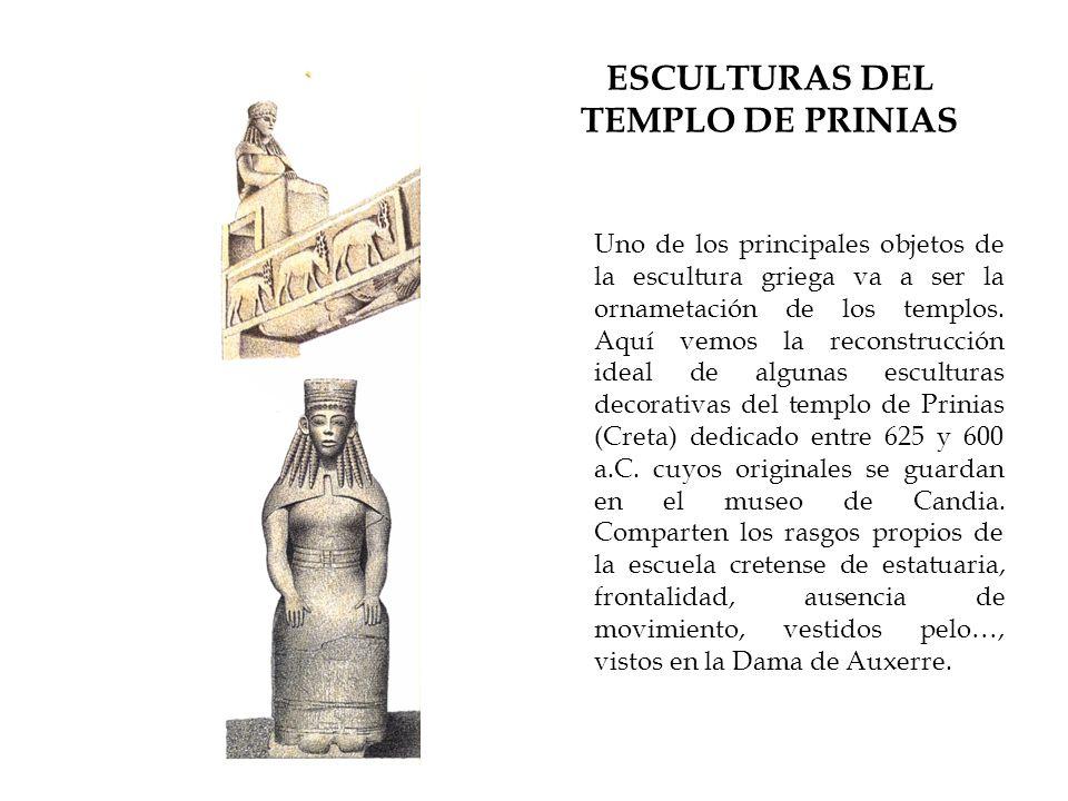 ESCULTURAS DEL TEMPLO DE PRINIAS