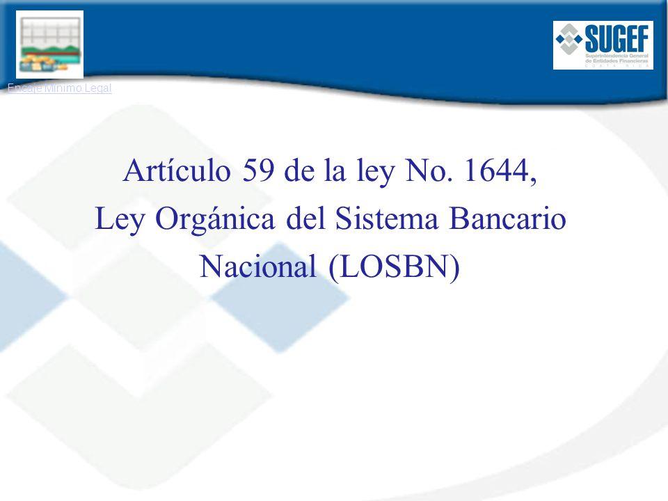 Ley Orgánica del Sistema Bancario