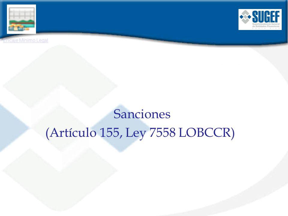 (Artículo 155, Ley 7558 LOBCCR))
