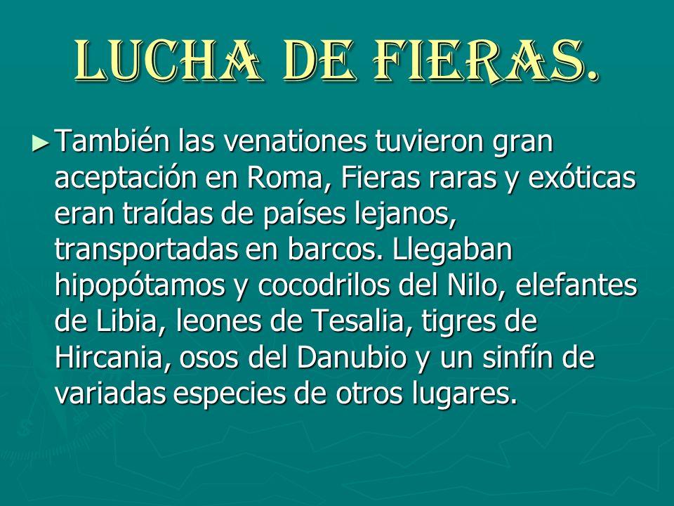 LUCHA DE FIERAS.