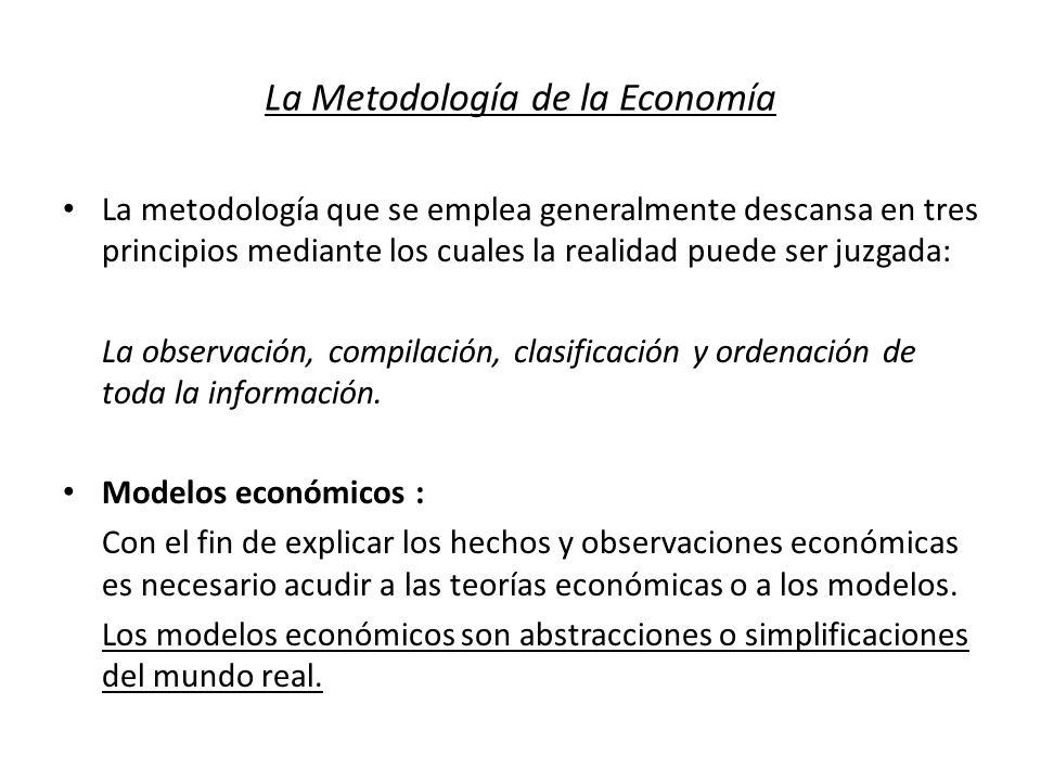 La Metodología de la Economía