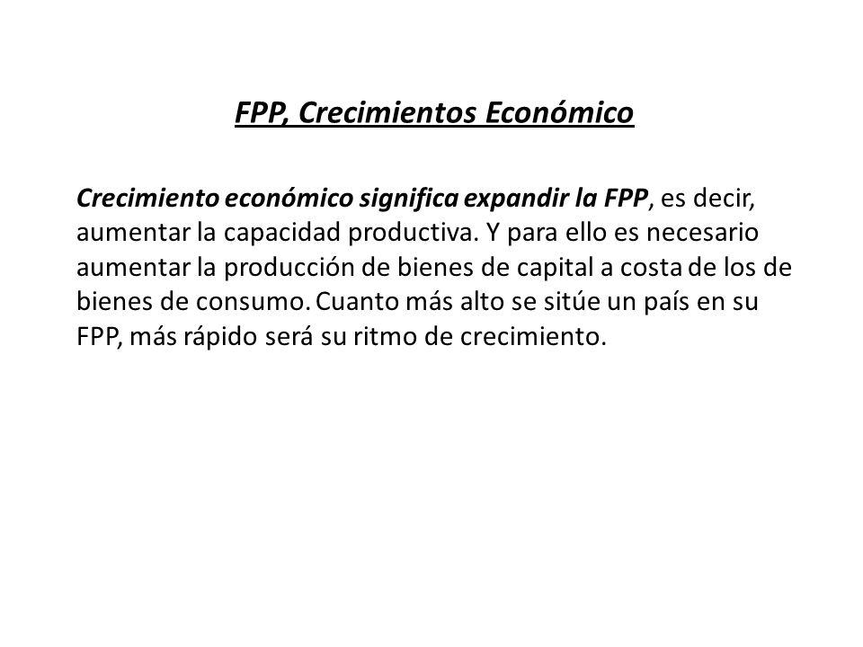 FPP, Crecimientos Económico