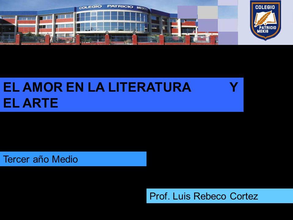 EL AMOR EN LA LITERATURA Y EL ARTE