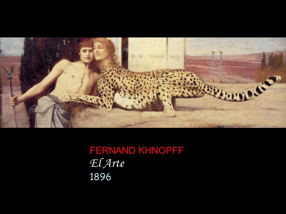 FERNAND KHNOPFF El Arte 1896