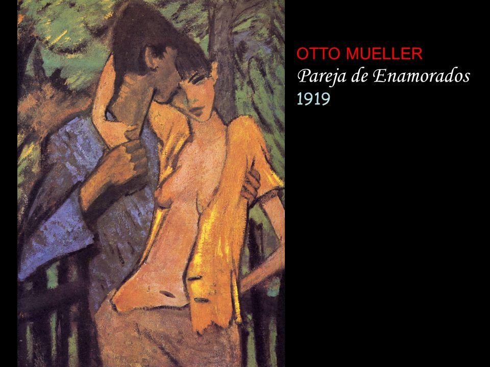 OTTO MUELLER Pareja de Enamorados 1919