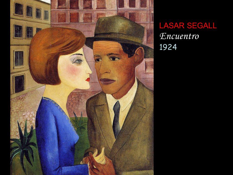 LASAR SEGALL Encuentro 1924