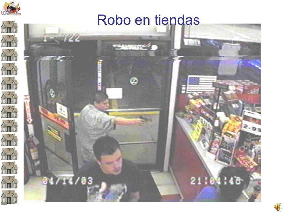 Robo en tiendas Revise nuevamente la imagen. ¿Qué tan precisa fue su observación.
