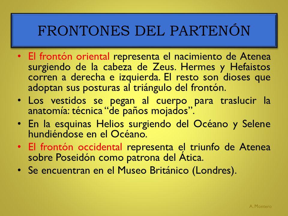 FRONTONES DEL PARTENÓN