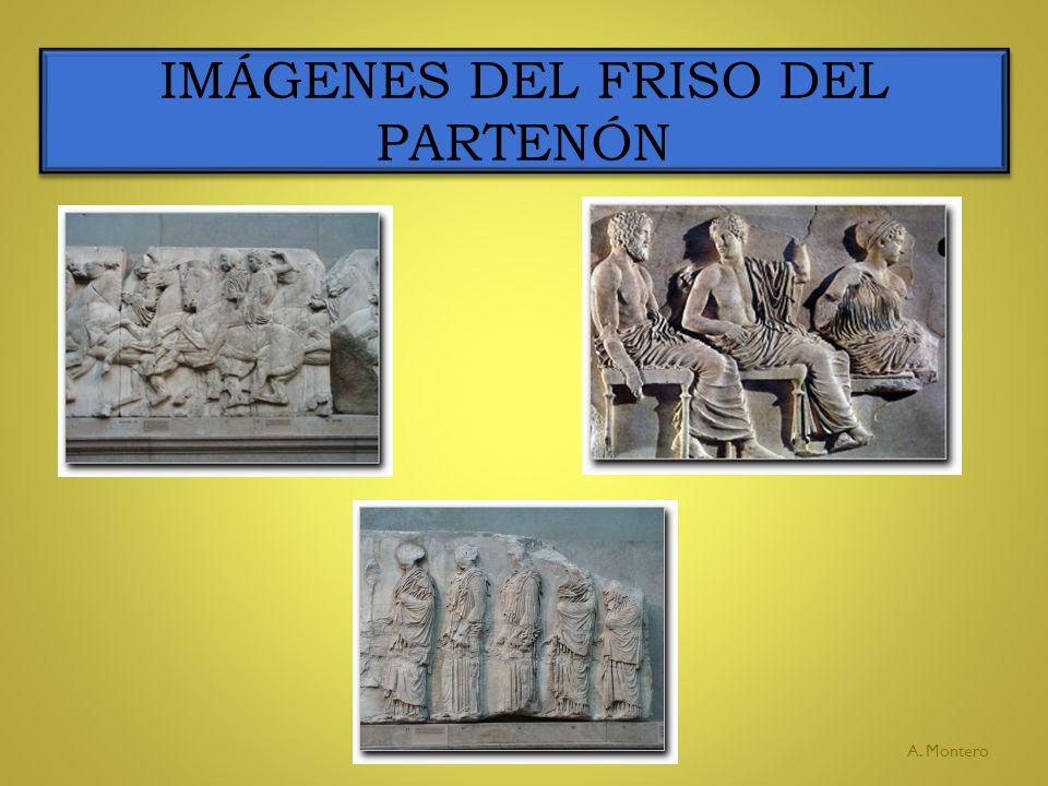 IMÁGENES DEL FRISO DEL PARTENÓN