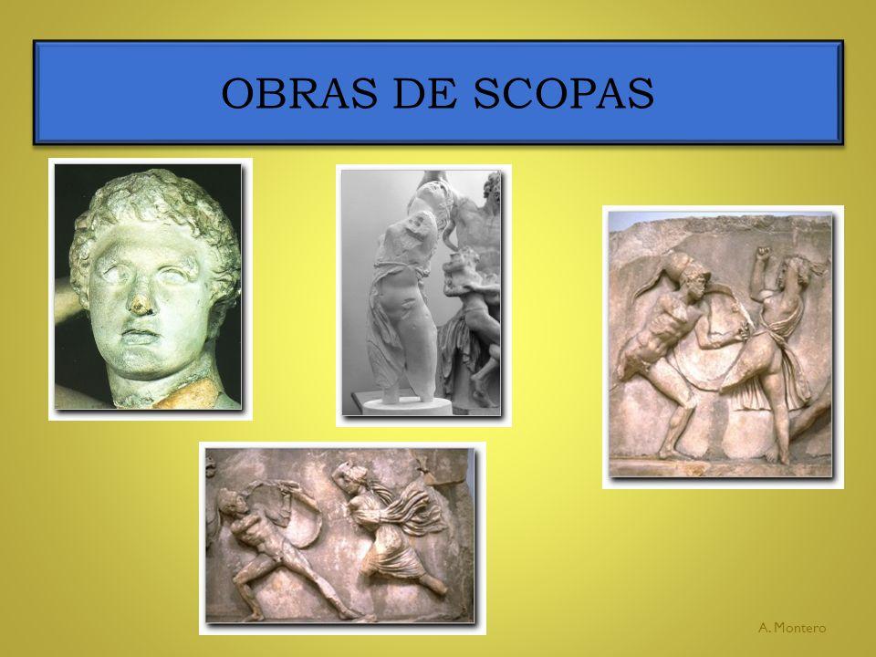 OBRAS DE SCOPAS A. Montero