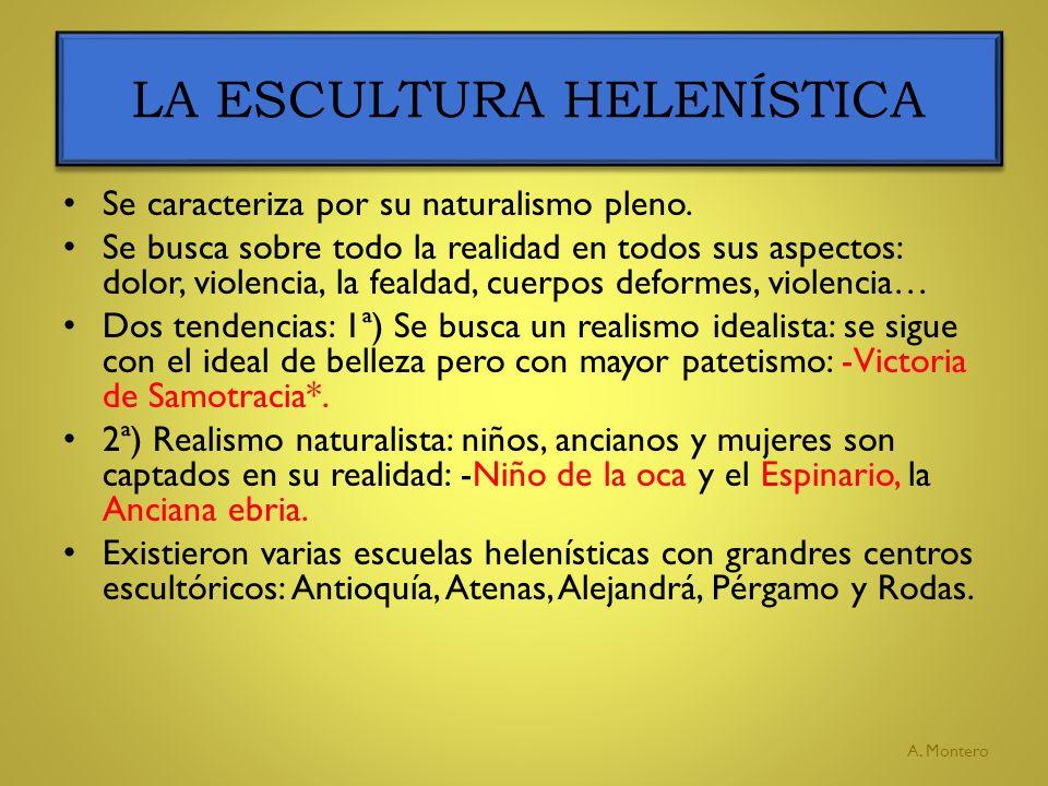 LA ESCULTURA HELENÍSTICA