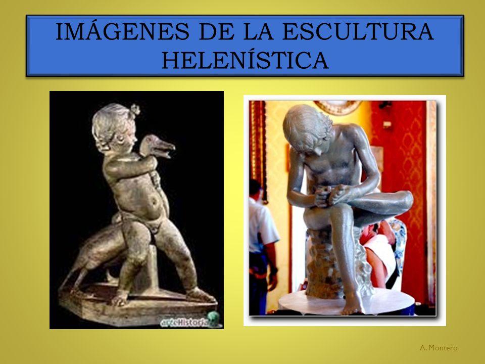 IMÁGENES DE LA ESCULTURA HELENÍSTICA