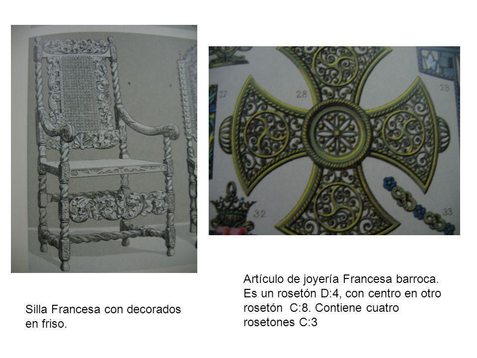 Artículo de joyería Francesa barroca