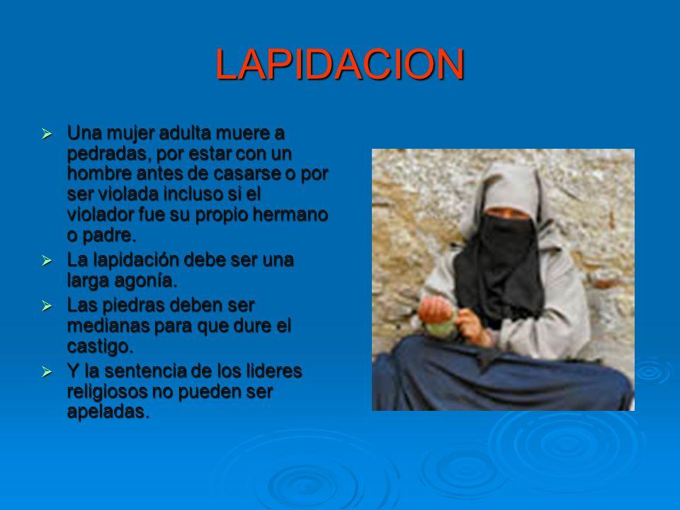 LAPIDACION