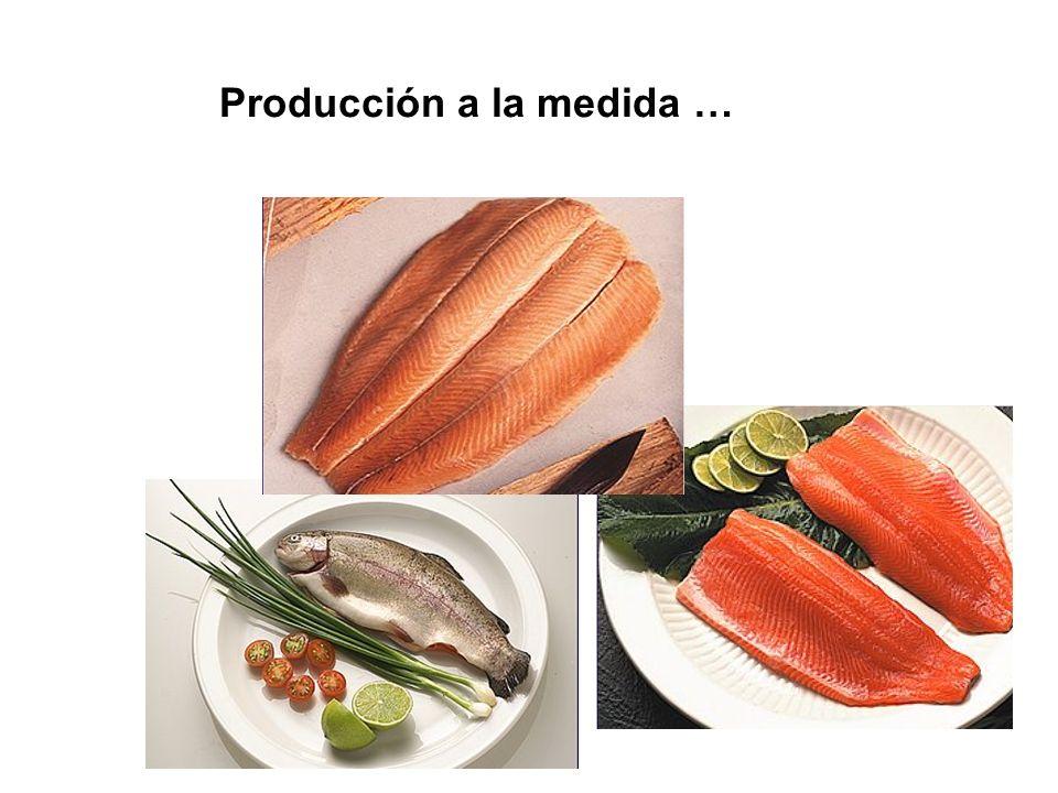 Producción a la medida …