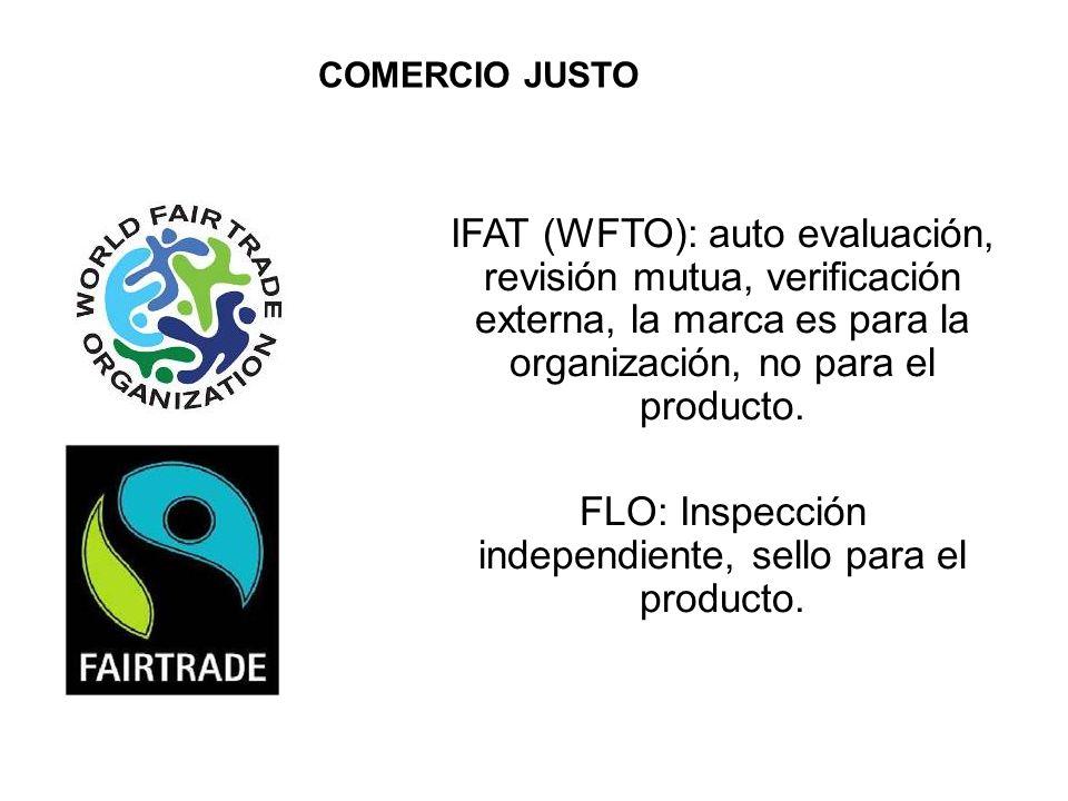 FLO: Inspección independiente, sello para el producto.