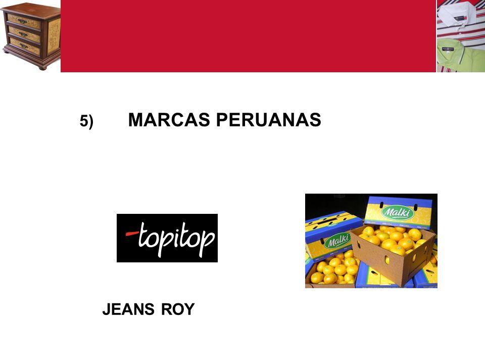 MARCAS PERUANAS JEANS ROY