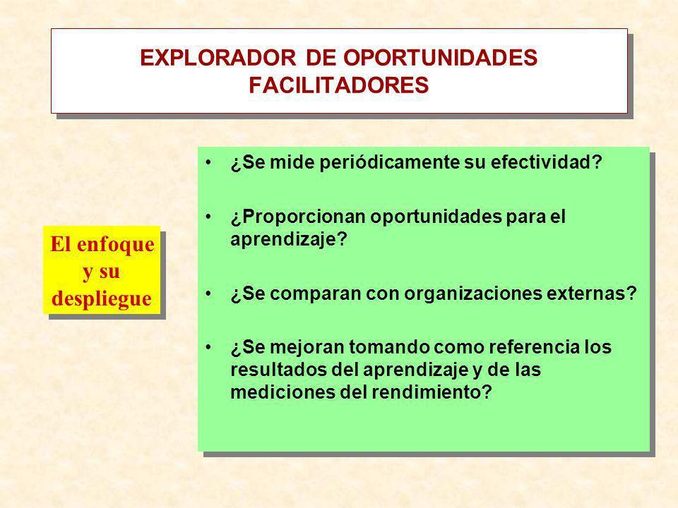 EXPLORADOR DE OPORTUNIDADES FACILITADORES