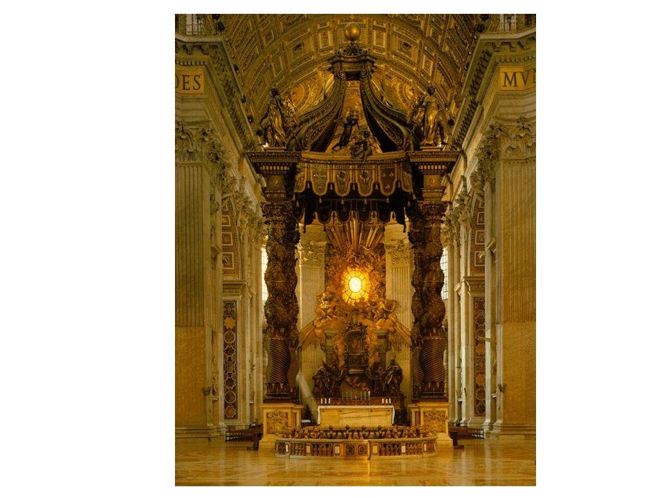 Baldaquino de San Pedro del Vaticano(Bernini)