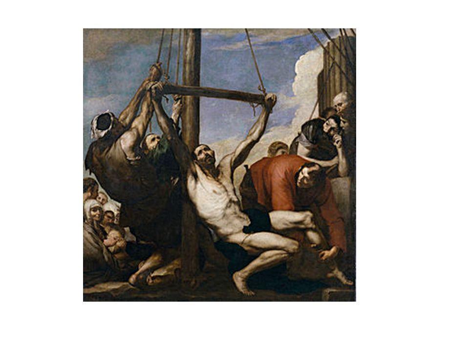 Martirio de San Bartolomé, de Ribera.