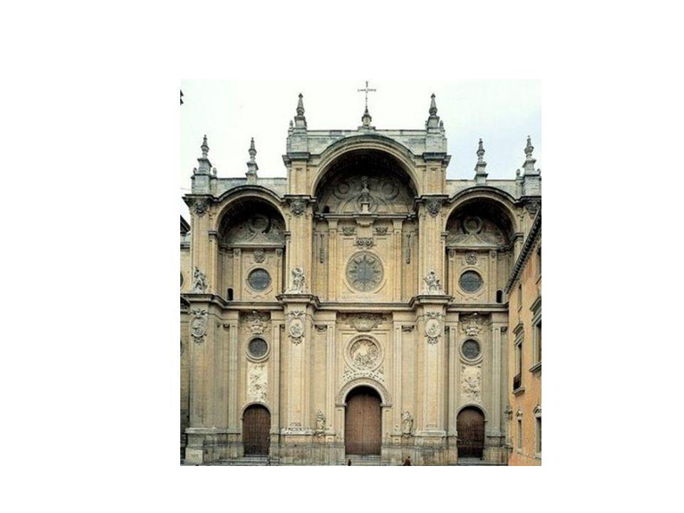 Fachada de la Catedral de Granada, de Alonso Cano.