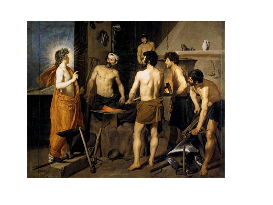 La fragua de Vulcano, de Velázquez.