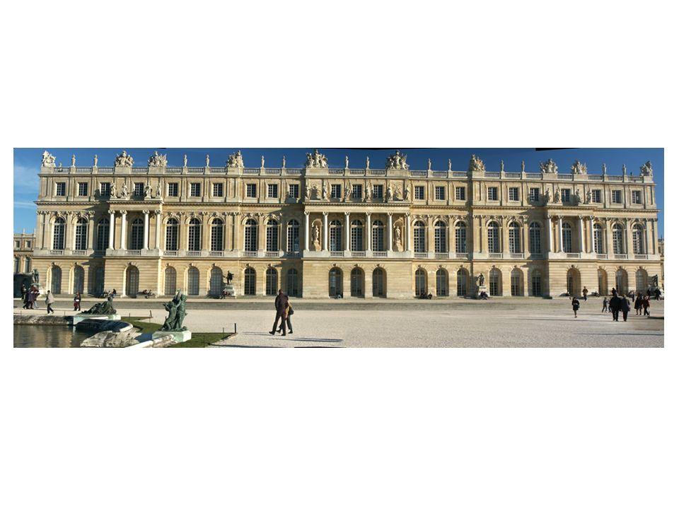 Fachada principal del Palacio de Versalles