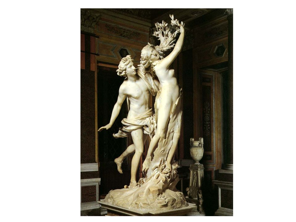Apolo y Dafne, de Bernini.