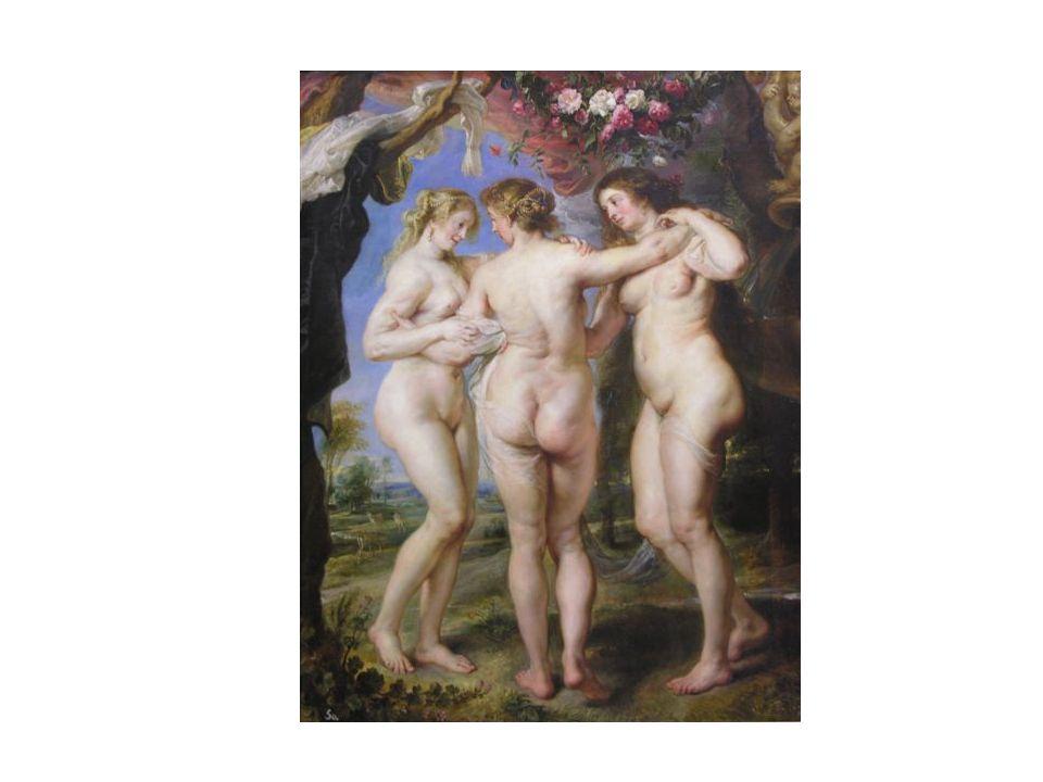 Las Tres Gracias, de Rubens.