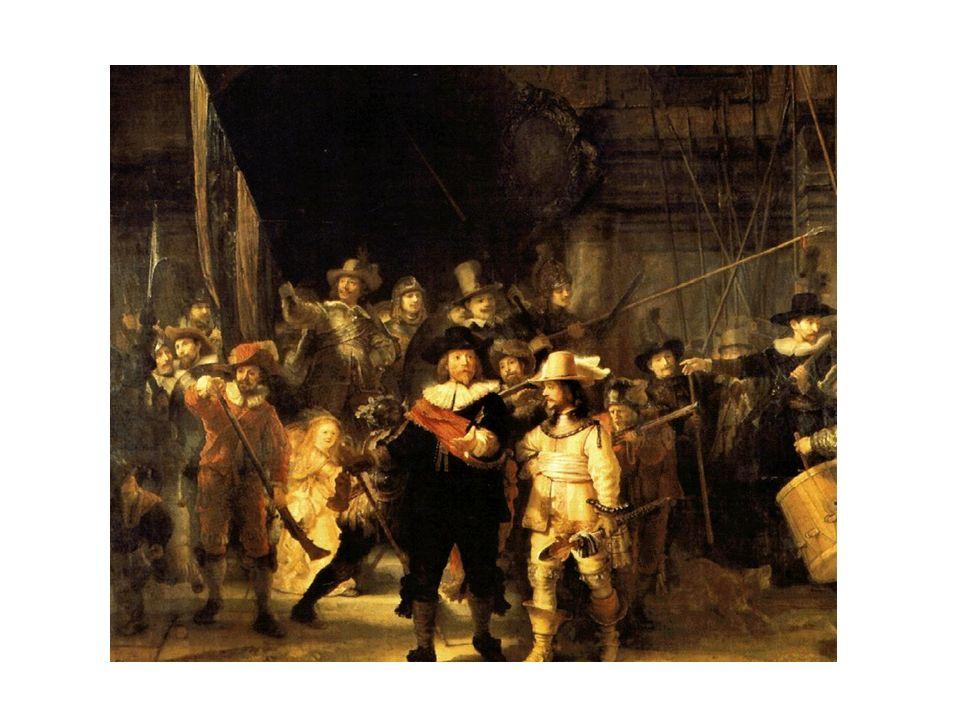 Ronda de Noche, de Rembrandt.