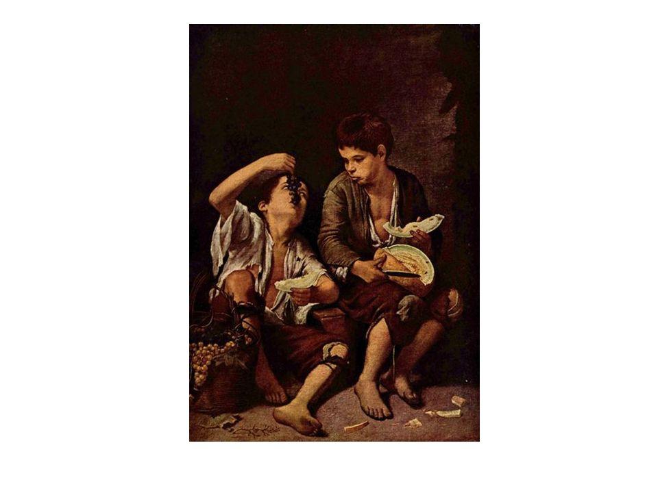 Niños comiendo fruta, de Murillo.