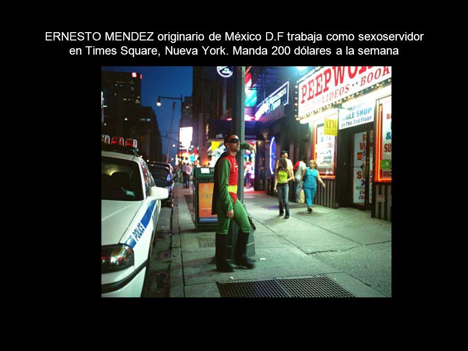 ERNESTO MENDEZ originario de México D