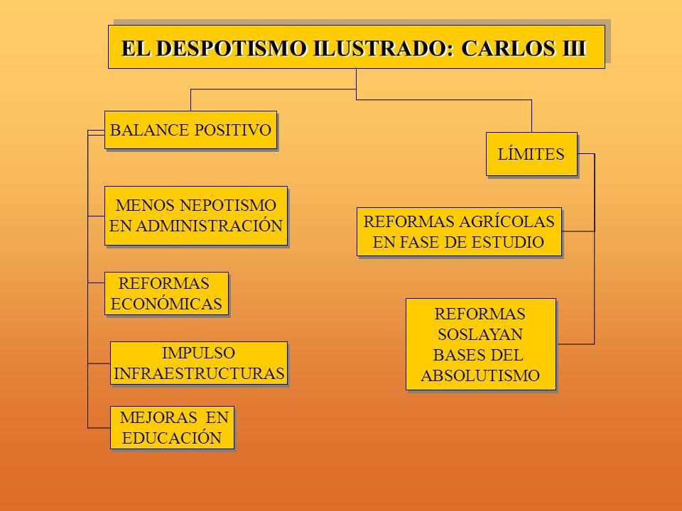 EL DESPOTISMO ILUSTRADO: CARLOS III