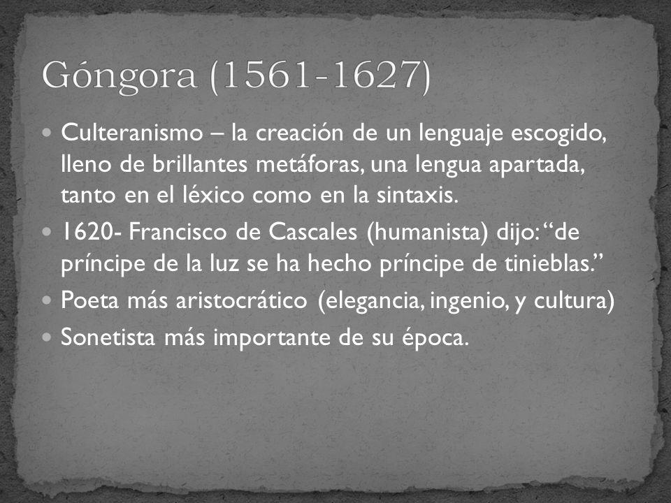 Góngora (1561-1627)