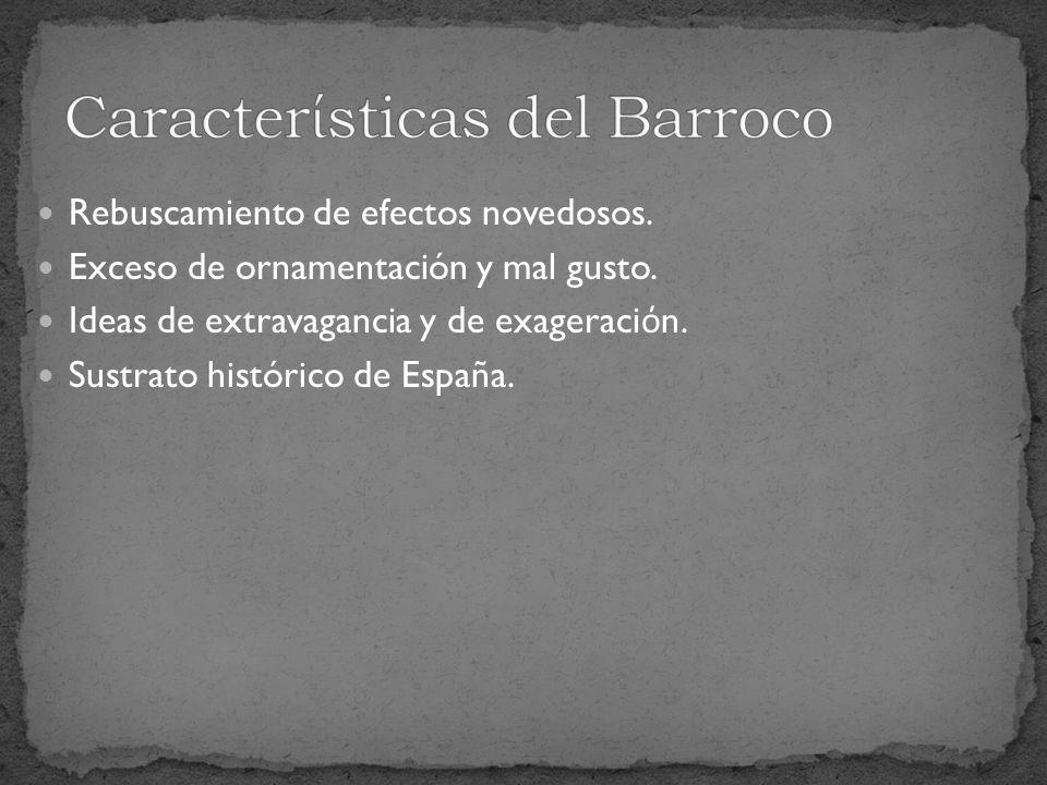 Caracterίsticas del Barroco