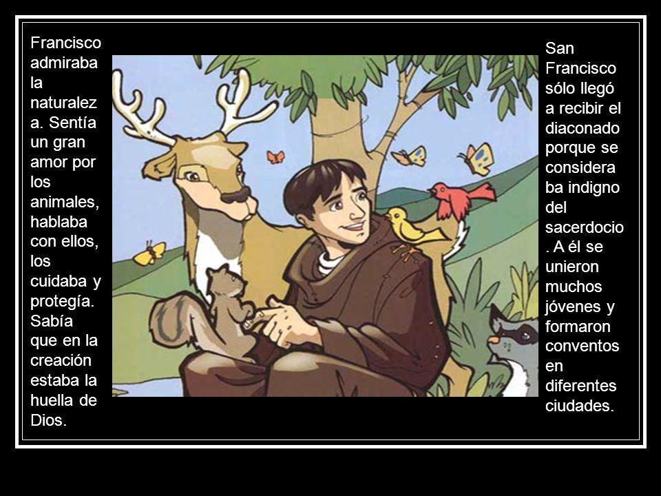 Francisco admiraba la naturaleza
