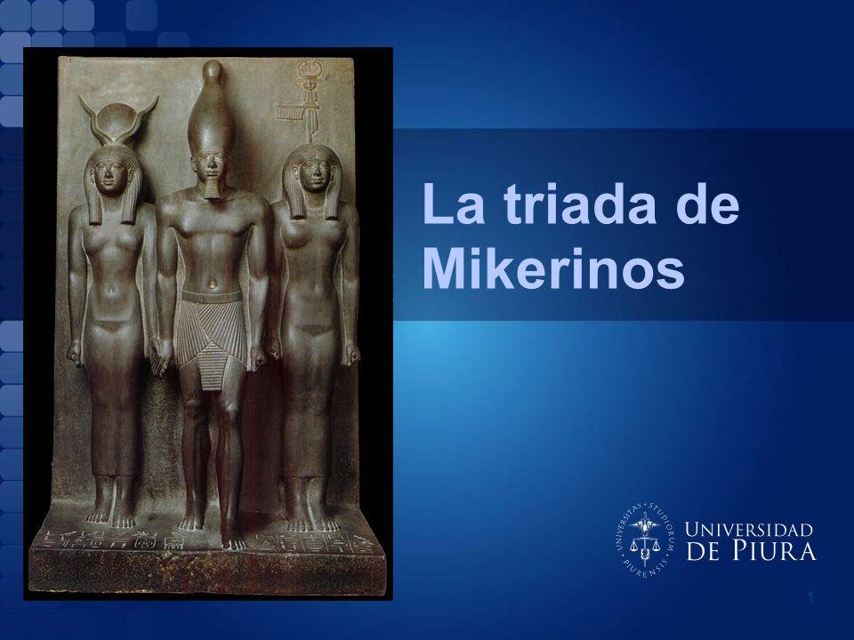 La triada de Mikerinos